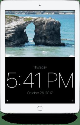 N-T Clock iPad
